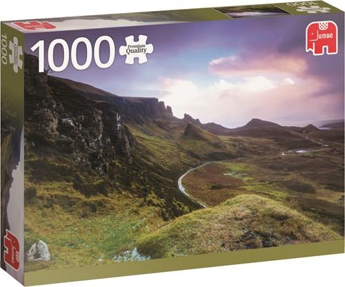 Jumbo puzzel Engeland - Trotternish Ridge Scotland - 1000 stukjes