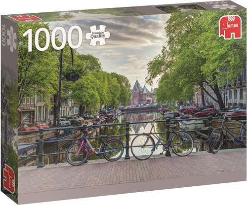 Jumbo puzzel Nederland -  De Waag Amsterdam - 1000 stukjes