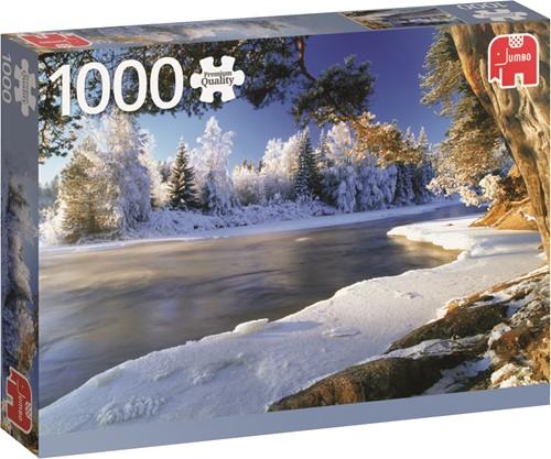 Jumbo puzzel Dal River Sweden - 1000 stukjes