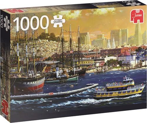 Jumbo puzzel San Francisco Bay, USA - 1000 stukjes