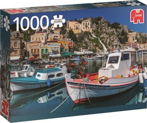 Jumbo puzzel Symi, Greece - 1000 stukjes