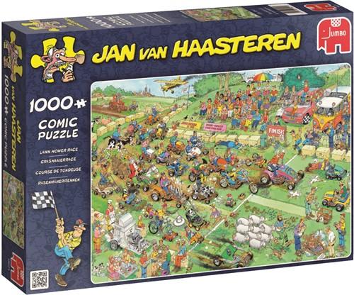 Jumbo puzzel Jan van Haasteren Grasmaaierrace - 1000 stukjes