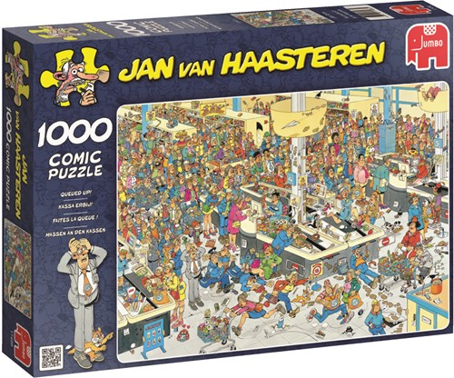 Jumbo puzzel Jan van Haasteren Kassa Erbij! - 1000 stukjes