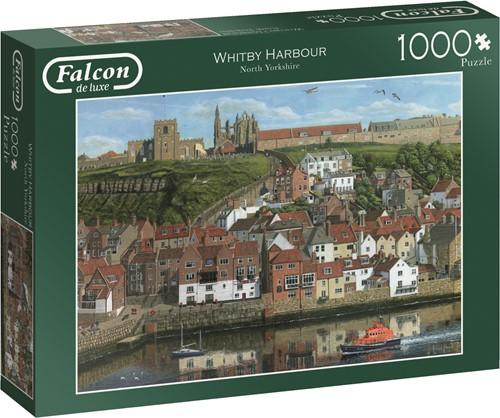 Jumbo puzzel Falcon Whitby Harbour - 1000 stukjes