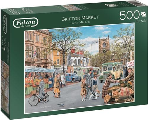 Jumbo puzzel Falcon Skipton Market - 500 stukjes