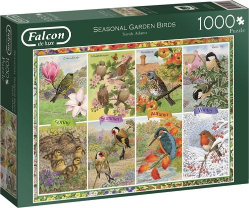 Jumbo puzzel Falcon Garden Birds - 1000 stukjes