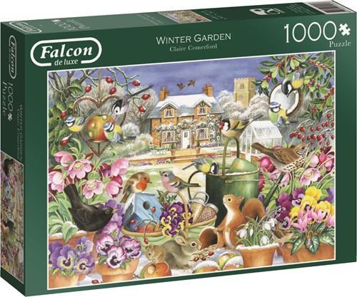 Jumbo puzzel Falcon Winter Garden - 1000 stukjes