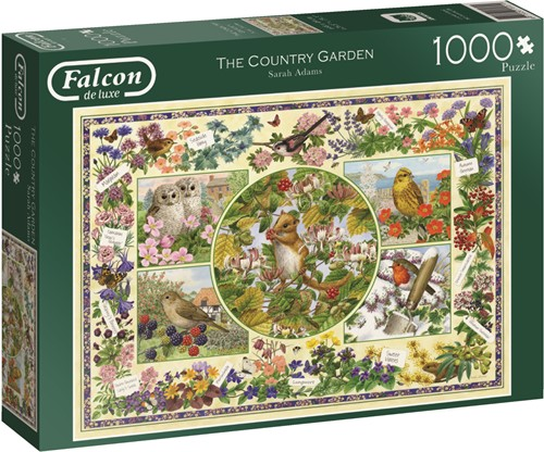 Jumbo puzzel Falcon The Country Garden - 1000 stukjes