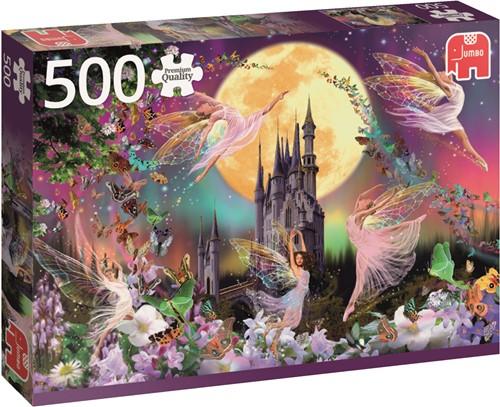 Jumbo puzzel Dancing Fairies - 500 stukjes