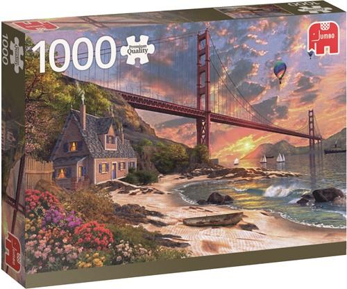 Jumbo puzzel Golden Gate Bridge, San Francisco - 1000 stukjes