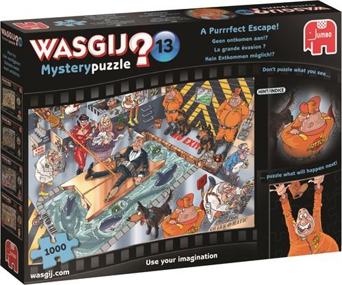 Jumbo puzzel Wasgij Mystery 13 INT - Geen ontkomen Aan! - 1000 stukjes