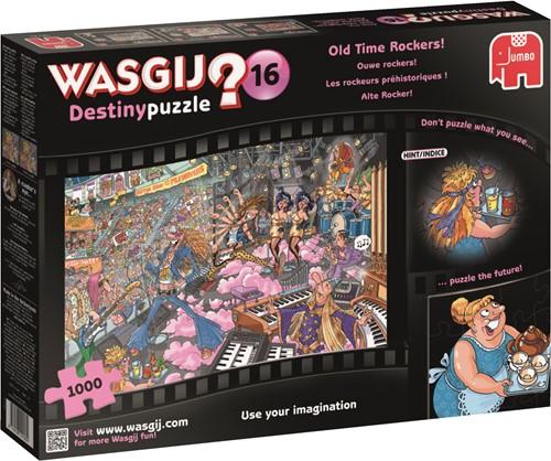 Jumbo puzzel Wasgij Destiny 16 INT - Ouwe Rockers! - 1000 stukjes