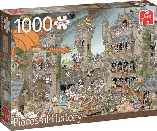 Jumbo puzzel Geschiedenis -  The Castle - 1000 stukjes