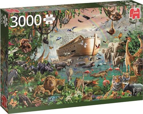 Jumbo puzzel Noah's Ark - 3000 stukjes