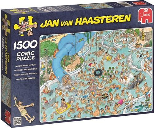 Jumbo puzzel Jan van Haasteren Tropisch Zwemparadijs - 1500 stukjes