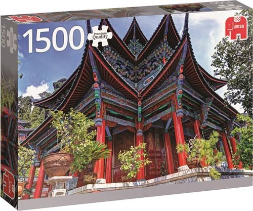 Jumbo puzzel Chinese Temple - 1500 stukjes