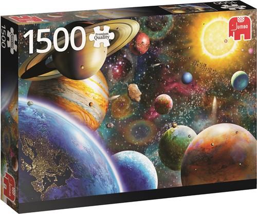 Jumbo puzzel Planets In Space - 1500 stukjes
