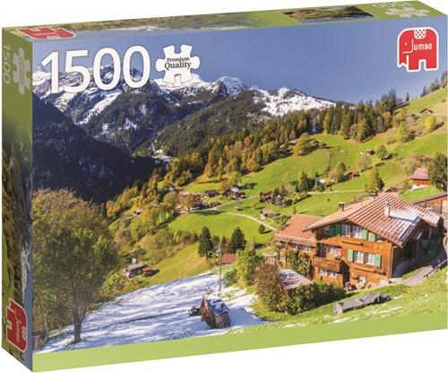 Jumbo puzzel Berner Oberland Switserland - 1500 stukjes