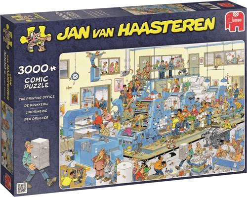 Jumbo puzzel Jan van Haasteren The De Drukkerij - 3000 stukjes