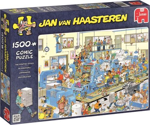 Jumbo puzzel Jan van Haasteren De Drukkerij - 1500 stukjes
