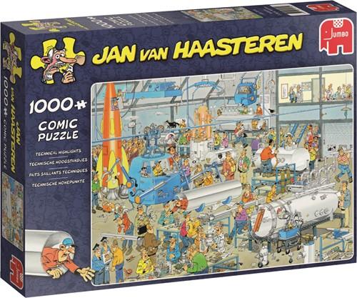 Jumbo puzzel Jan van Haasteren Technische Hoogstandjes - 1000 stukjes