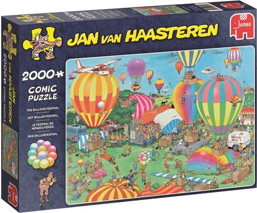 Jumbo puzzel Jan van Haasteren Het Ballon Festival - 2000 stukjes