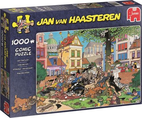 Jumbo puzzel Jan van Haasteren Vang die Kat! - 1000 stukjes