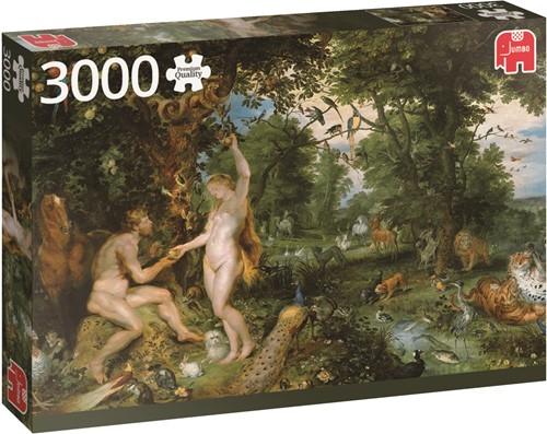 Jumbo puzzel Rubens Garden Of Eden - 3000 stukjes