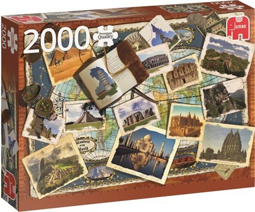 Jumbo puzzel Wonders Of The World - 2000 stukjes