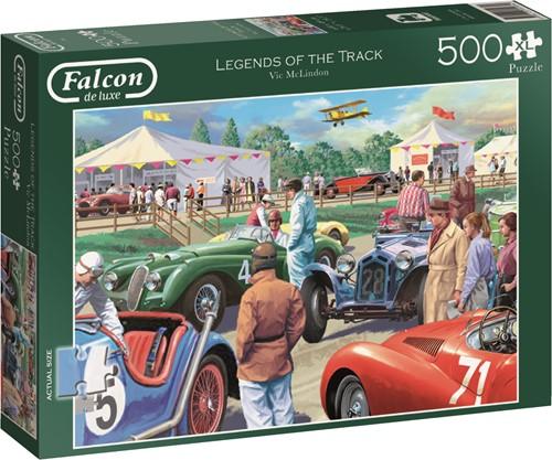Jumbo puzzel Falcon Legends of the Track - 500 XL stukjes