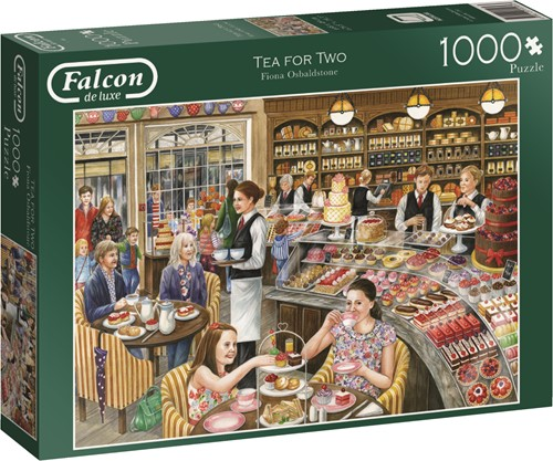 Jumbo puzzel Falcon Tea for Two - 1000 stukjes