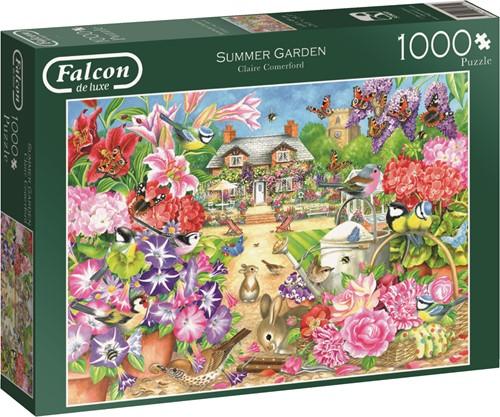 Jumbo puzzel Falcon Summer Garden - 1000 stukjes