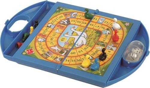 Jumbo spel Ganzenbord & Slangen en Ladders Compact-3