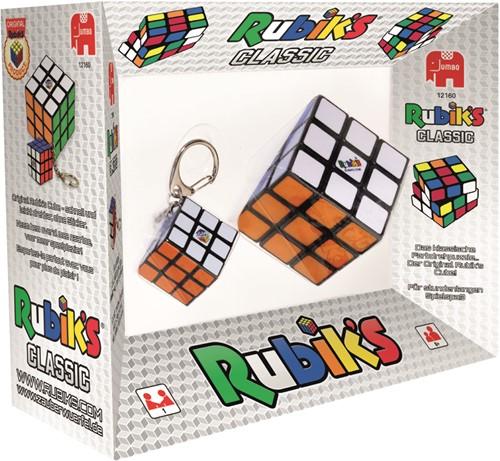Jumbo Rubik's 2in1 3x3 and Key Chain