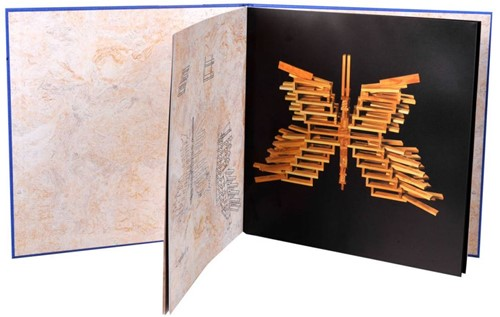 Kapla  houten bouwplankjes boek blauw vol. 2-2