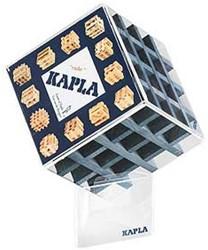 Kapla  houten bouwplankjes 36 kubus donkerblauw
