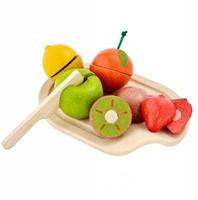 Plan Toys  houten keuken accessoires Fruit assortiment