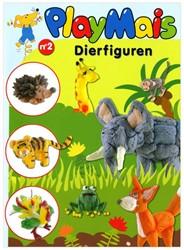 PlayMais  knutselspullen Boek dieren nummer 2