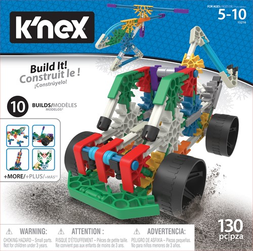 KNEX BUILDING SETS - 10 N 1 BUILDING SET