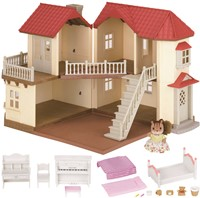 Sylvanian Families City House with Lights Gift Set 3646-2