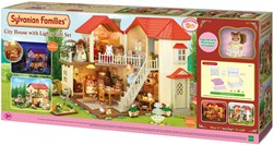 Sylvanian Families City House with Lights Gift Set 3646