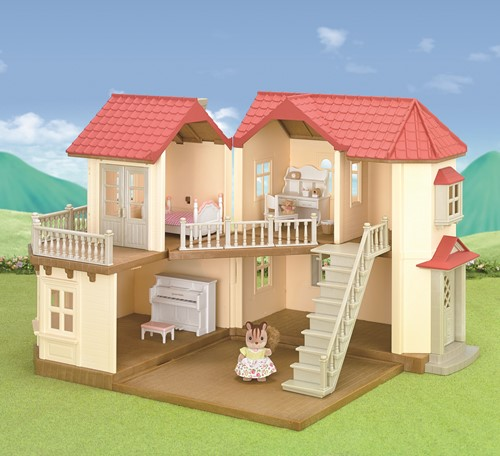 Sylvanian Families City House with Lights Gift Set 3646-3