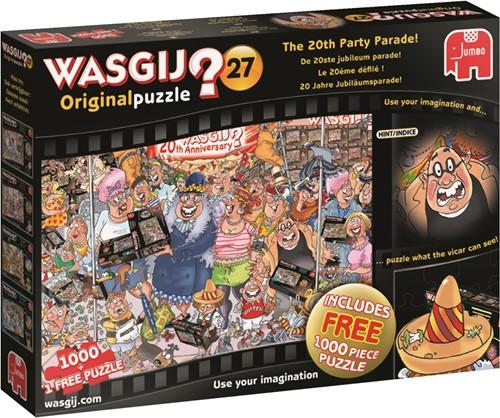 Jumbo puzzel Wasgij Original 27 INT - De Jubileum Parade! (2x1000)