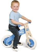 Janod - Bikloon loopfiets - mijn eerste loopfiets blauw-2