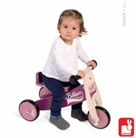 Janod  houten driewieler loopfiets Bikloon Paars-2
