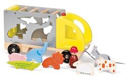 Janod Vrachtwagen - dieren vormen