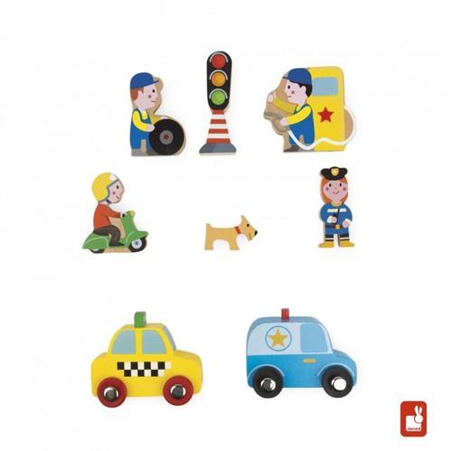 Janod - Speelwereld - Story Mini stad-1