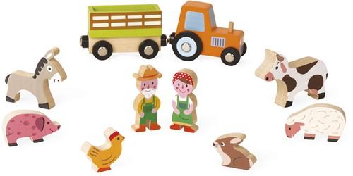 Janod - Speelwereld - Story Mini boerderij-1