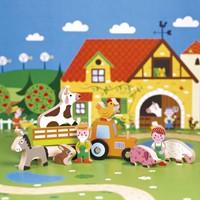Janod - Speelwereld - Story Mini boerderij-2
