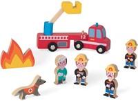 Janod - Speelwereld - Story Mini brandweer-1